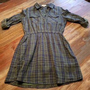 Freeway plaid dress